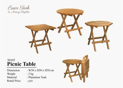 01-Picnic-Table