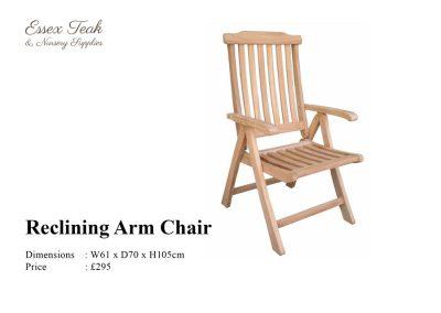Reclining-Arm-Chair